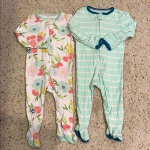 Cloud Island Target Baby Girl Onesies